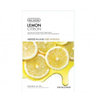 Real Nature Face Mask  Lemon